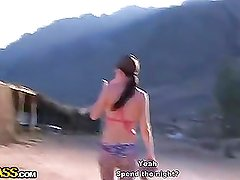 Hot travel sex movie from Egypt:Day 3 - Mountains,camels and fucking,part 1 - 4