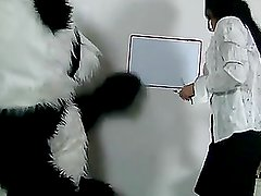 Pandas such a bad student!