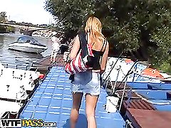 I at no time had sex on a boat previous to and thought it was a great chance to try it.