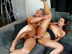 Dirty Old Boss Seduced & Gets To Fuck Gorgeous Latina Luna At Interview!