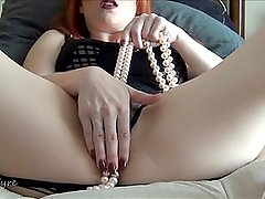 JOI maturbation encouragement w/ Pearls by Lady Fyre jerk off instruction