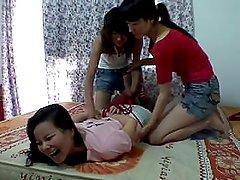 china tickling 2 on 1