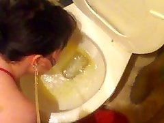 Piss in my whore face