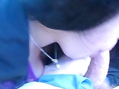 angy giving blowjob in car for cash pt 4