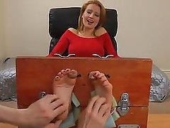 UK Tickling. Scarlett Tickled.