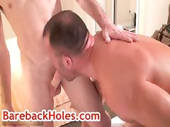 Brock gets his anus rimmed by fred mayer part2