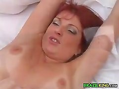 Brazilian Mother Gets It In The Ass