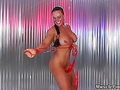 Andrea Giacomi 01 - Female Bodybuilder