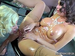 PornstarPlatinum - Veronica Avluv and Puma Swede whip cream