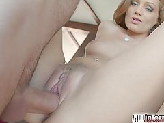 All Internal Sophie lynx gets her creampie