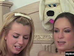 Amber Rayne and Lexi Belle are two huge
