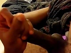 sexy dude wanks his cock