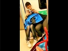 Spycam Read During Blowjob Public Underground