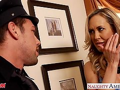 Brandi Love, Eva Karera and Julia Ann fucking