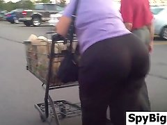 Grandma With A Big Ass At The Store