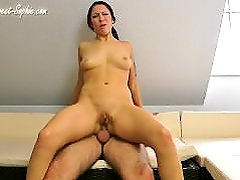 Sweet Sophie Analsex with the dad from her friend