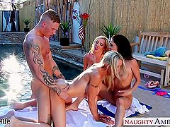 Emma Starr, Jessica Jaymes and Nikki Benz