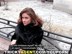 Tricky Agent - Filming horny first-timers