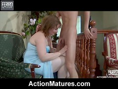 Amazing Sex With The Chunky Mature Hottie Flo