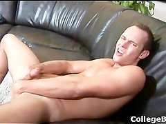 DevinAdams wanking his fine college cock part2
