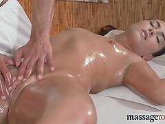 Massage Rooms Teen stunner is fucked deep