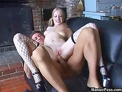 Haley Scott anally creampied