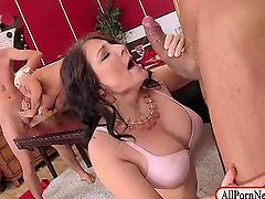 Wives Nikita and Casey amazing foursome