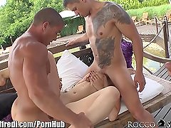 RoccoSiffredi Marina Visconti Gangbanged Outside