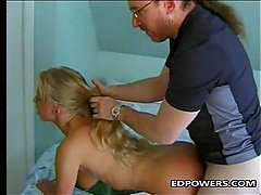 Russian Girl Takes A Ride On Ed Powers Cock