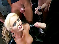 Alexis Ford Vs 5 Cocks In Blowbang