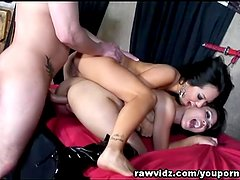 Asian Hotties Jessica Bangkok And Asa Akira Share Hard Cock