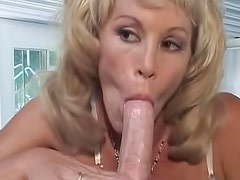 Hot Michelle St James is here to show how to suck big cock