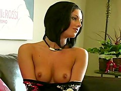 Hot body on a young stripping girl