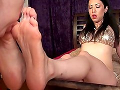 POTS Asian Dominatrix Foot Worship