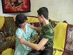 Russian mature Vlada and Tim