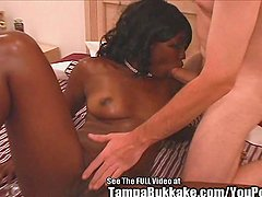 Fine Ass Black Chick Fucks Toy and Dirty D