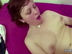 German Step-Mom Seduce 18yr old Step-Son