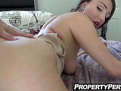 Sexy big ass real estate agent fucking