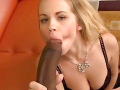 Britney Young is stretched by a huge black cock
