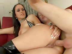 Sizzling Carmella Bing gets her tight asshole slammed