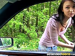 Stranded Teens - Young stranded Belle Claire need help