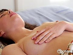 Adorable Patricia Fingering Her Pussy