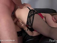 Nina Hartley is a Slutty Corporate Stepmother