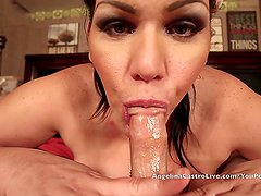 Angelina Castro Gets MASSIVE Facial Cumshot after Workout!