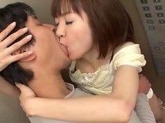 Asian Babe With An Amazing Ass Gags On A Tiff Cock