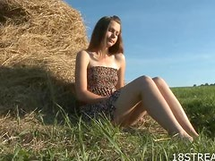 Passionate Outdoor Sex With The Naughty Blonde Teen Klara