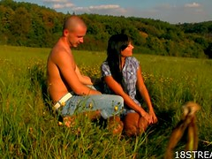 Sexy Outdoor Sex at Sunset