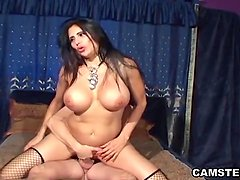 Busty MILF loves getting rammed by hard cock