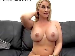 Amazing MILF in her first Anal Casting