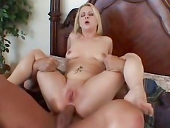 Aaralyn Barra bounces her tight ass on this hard dick